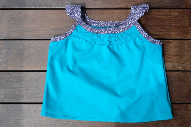 Oliver + S Badminton skort and top